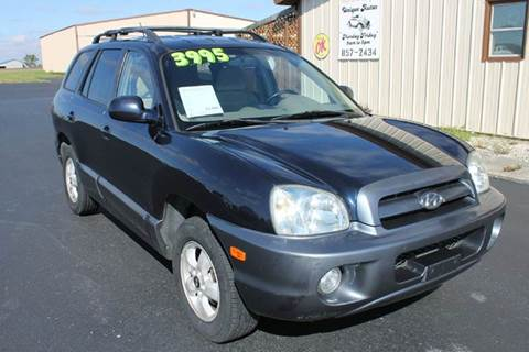 2005 Hyundai Santa Fe for sale in Ridgeville, IN