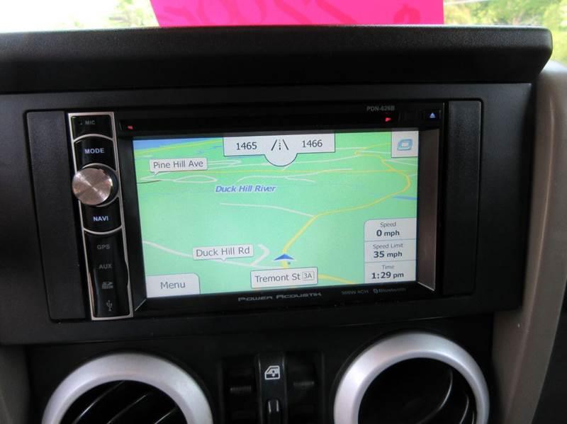 2010 Jeep Wrangler Unlimited Sahara 4x4 4dr SUV - Duxbury MA