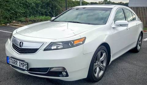 2012 Acura TL for sale in Suitland, MD