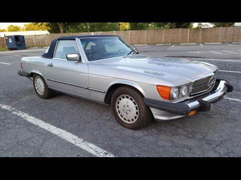1987 Mercedes-Benz 560-Class for sale in Suitland, MD