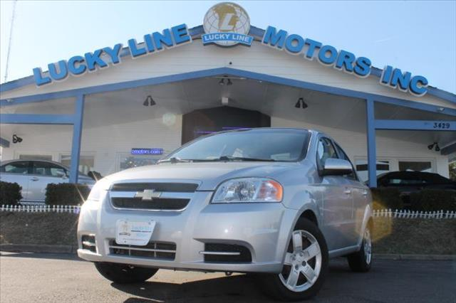 Used 2009 Chevrolet Aveo In Fredericksburg Va At Lucky Line Motors Inc