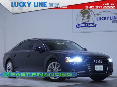 2012 Audi A8 L for sale in Fredericksburg, VA