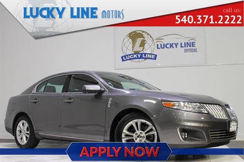 2011 Lincoln MKS for sale in Fredericksburg, VA