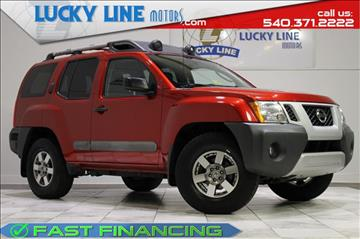 2012 Nissan Xterra for sale in Fredericksburg, VA