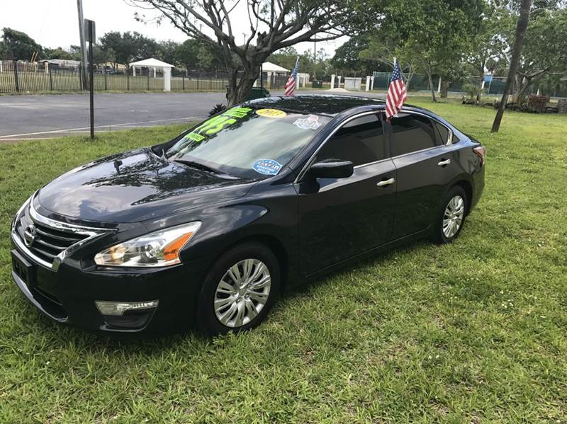 2013 NISSAN ALTIMA 25 SV 4DR SEDAN gray 2013 nissan altima sv   eco boost sport this vehicle is e