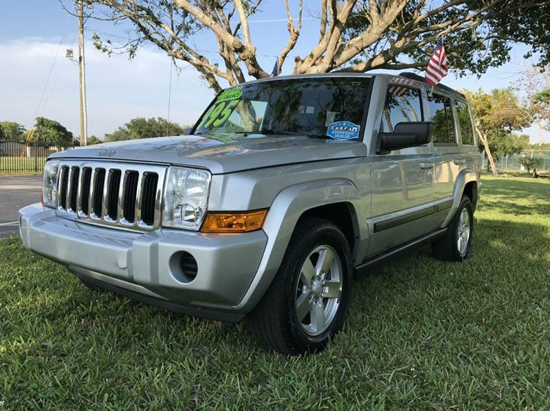 2007 JEEP COMMANDER SPORT 4DR SUV 4WD sive 2007 jeep commander sport seats third row   eco boost s