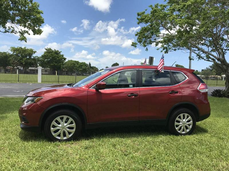 2016 NISSAN ROGUE SL AWD 4DR CROSSOVER red 2016 nissan  rogue ssv awd eco boost sport this vehicl
