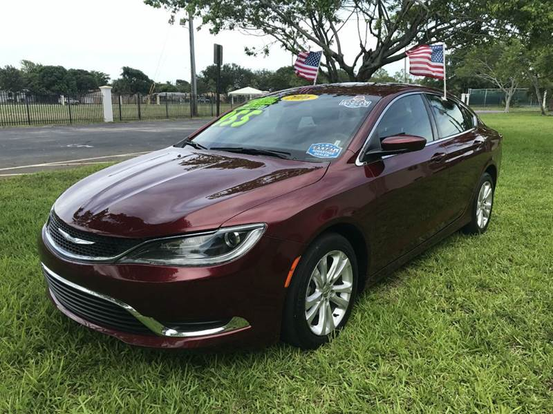 2016 CHRYSLER 200 TOURING 4DR SEDAN black 2016 chrysler 200 limitred 4cc  warranty  backup camera