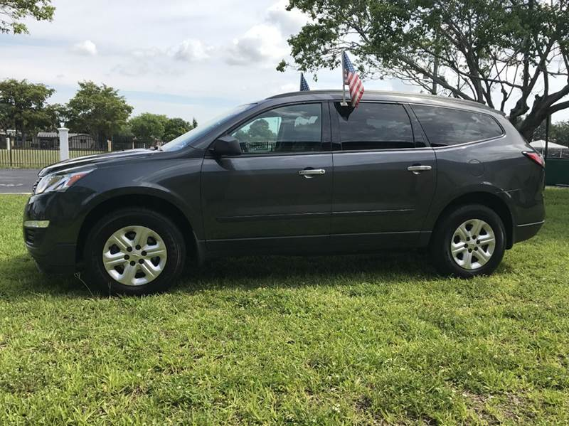 2014 CHEVROLET TRAVERSE LT 4DR SUV W1LT gray 2014 chevrolet travese 2lt this vehicle is extermel