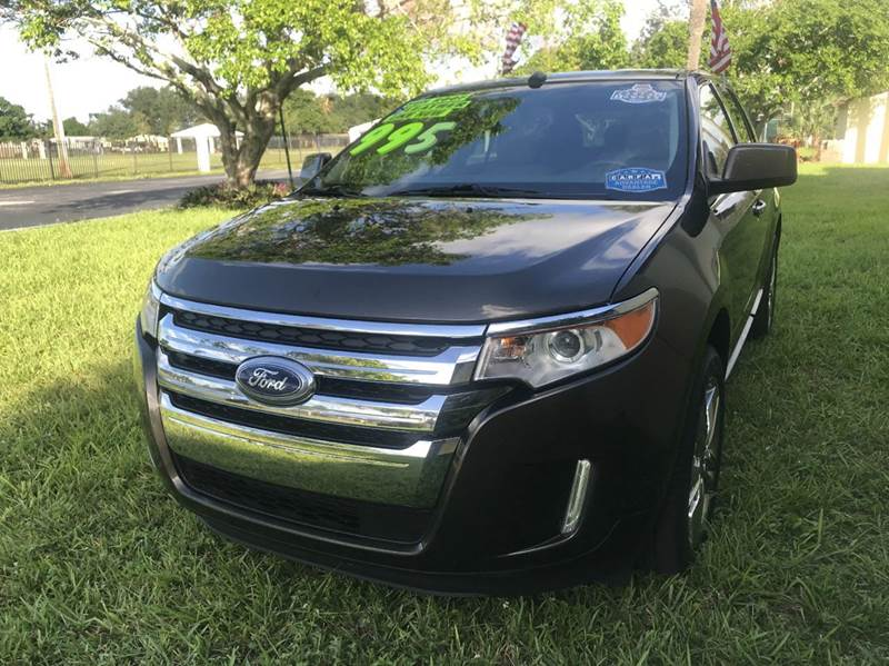 2011 FORD EDGE LIMITED 4DR CROSSOVER gray 2011 ford edge limited  4dr crossover sport this vehicle