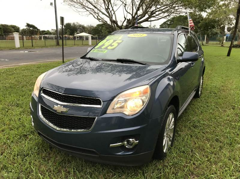 2011 CHEVROLET EQUINOX LTZ AWD 4DR SUV blu 2011 chevrolet equinox  eco boost sport this vehicle is