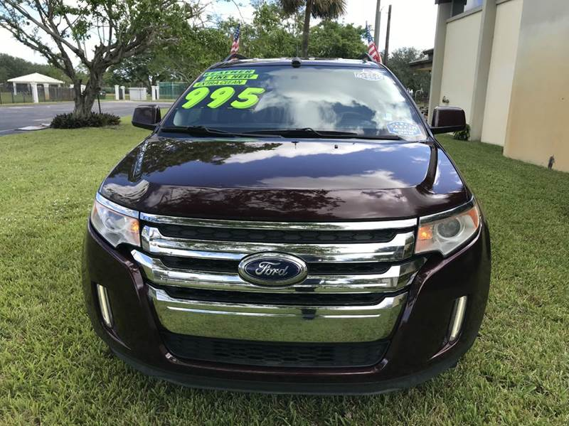 2011 FORD EDGE LIMITED AWD 4DR CROSSOVER red 2011 ford edge limited  4dr crossover sport this vehi