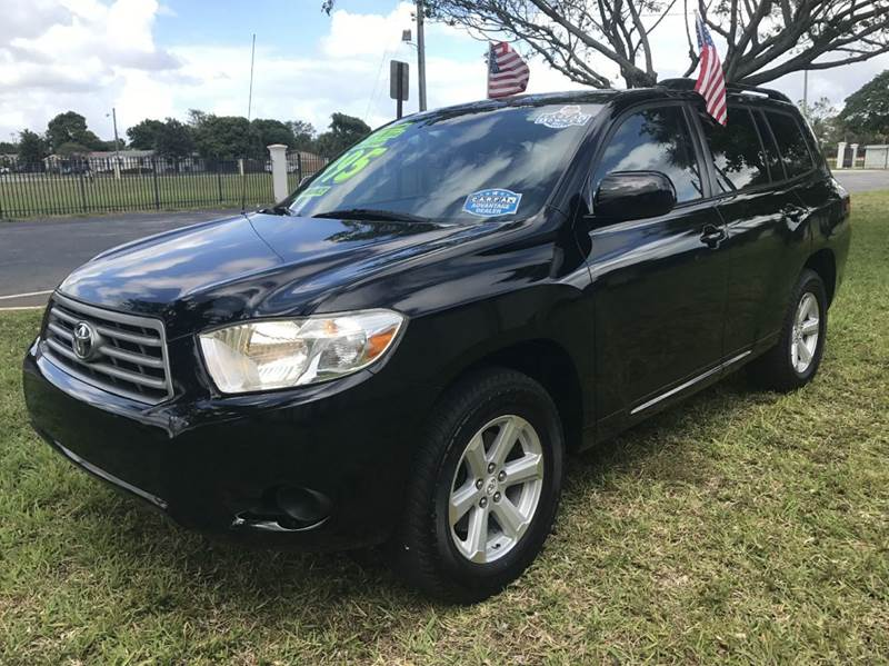 2010 TOYOTA HIGHLANDER LIMITED 4DR SUV black 2010 toyota highlander 3rd row   sport eco boost spo