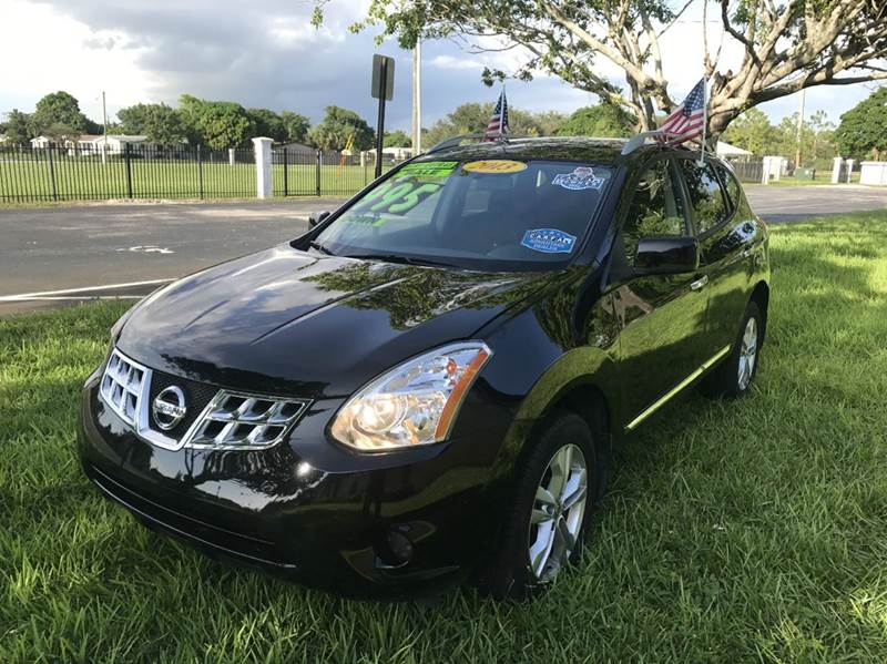 2013 NISSAN ROGUE SV WSL PACKAGE AWD 4DR CROSSOVE black 2013 nissan rogue svsl  eco boost sport