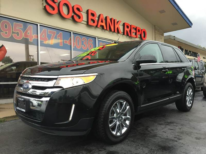 2013 FORD EDGE LIMITED AWD 4DR SUV black 2013 ford edge ltd limited sony edditoin this vehicle is