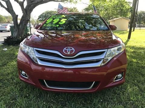 2013 Toyota Venza for sale in Plantation, FL