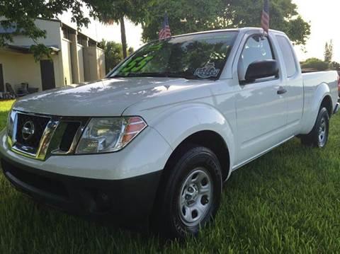 2012 Nissan Frontier for sale in Plantation, FL