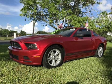 2013 Ford Mustang for sale in Plantation, FL