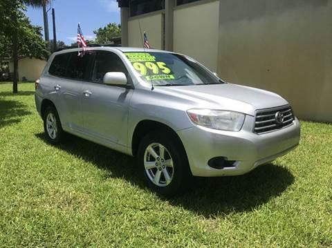 2010 Toyota Highlander for sale in Plantation, FL