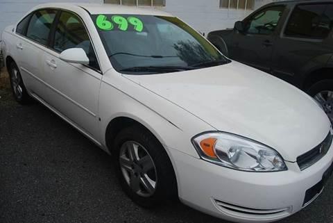 2007 Chevrolet Impala for sale in Laurel, DE