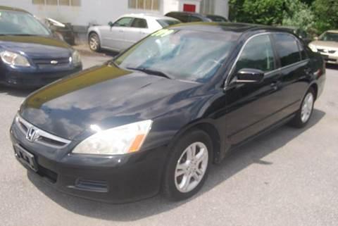 2007 Honda Accord for sale in Laurel, DE