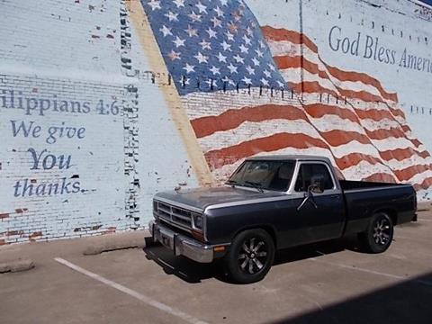 1987 Dodge RAM 150 for sale in Skiatook, OK
