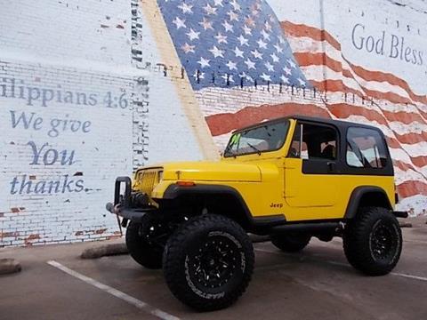 1990 Jeep Wrangler for sale in Skiatook, OK