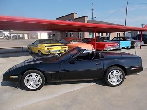1990 Chevrolet Corvette for sale in Skiatook, OK