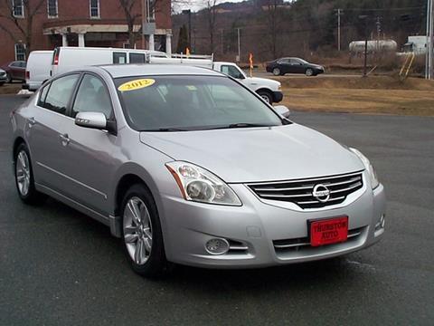 2012 Nissan Altima for sale in Saint Johnsbury, VT
