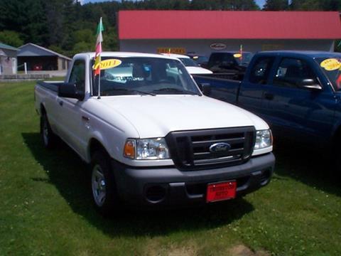 2011 Ford Ranger for sale in Saint Johnsbury, VT