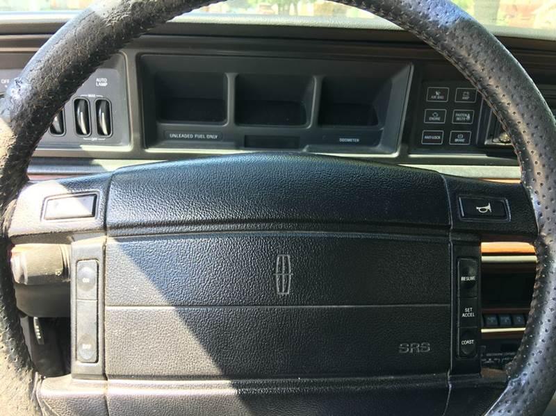 1990 Lincoln Mark VII Bill Blass 2dr Coupe - Chicago IL