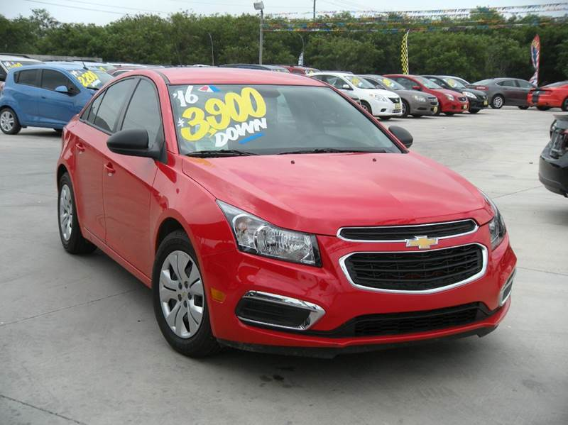 2016 chevrolet cruze limited ls auto 4dr sedan w 1sb in hidalgo tx a v motors. Black Bedroom Furniture Sets. Home Design Ideas