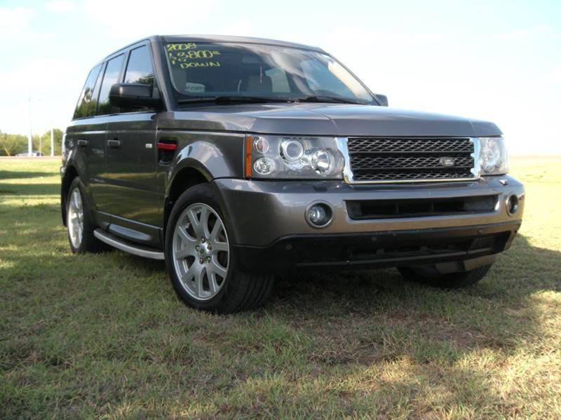 2008 land rover range rover sport 4x4 hse 4dr suv in hidalgo tx a v motors. Black Bedroom Furniture Sets. Home Design Ideas