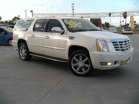 2007 cadillac escalade esv for sale in texas. Black Bedroom Furniture Sets. Home Design Ideas