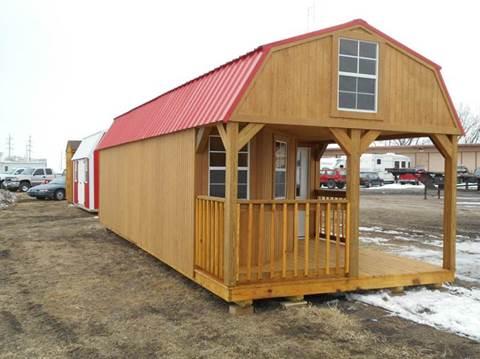 2016 Premier  Deluxe Lofted Barn Cabin for sale in Columbus, NE