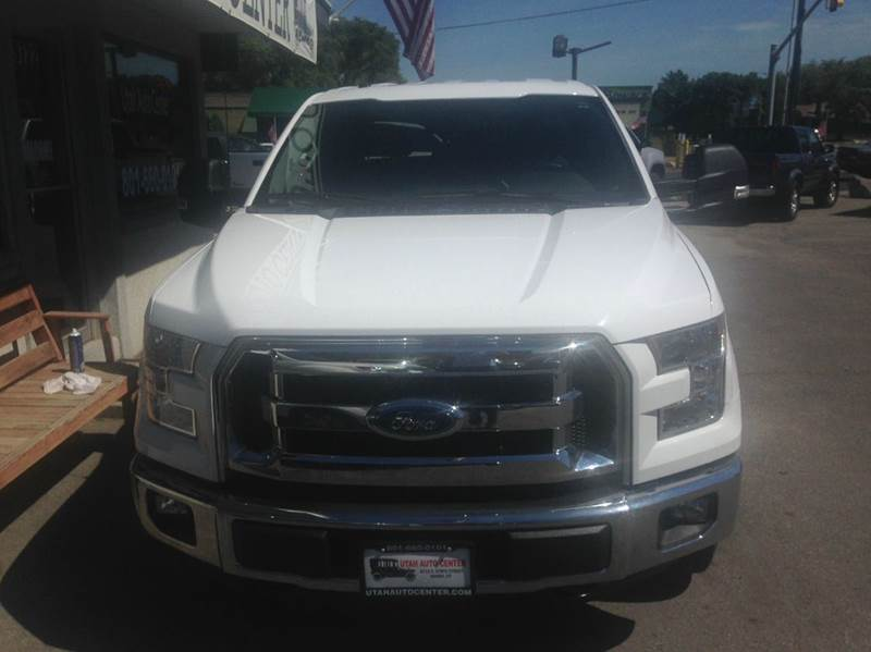 2015 Ford F-150 4x4 XLT 4dr SuperCrew 5.5 ft. SB - Sandy UT
