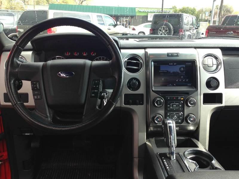 2013 Ford F-150 4x4 FX4 4dr SuperCab Styleside 6.5 ft. SB - Sandy UT