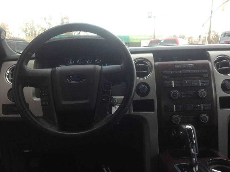 2012 Ford F-150 4x4 Lariat 4dr SuperCrew Styleside 5.5 ft. SB - Sandy UT