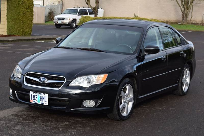 2008 subaru legacy limited awd 4dr sedan 4a in aloha. Black Bedroom Furniture Sets. Home Design Ideas