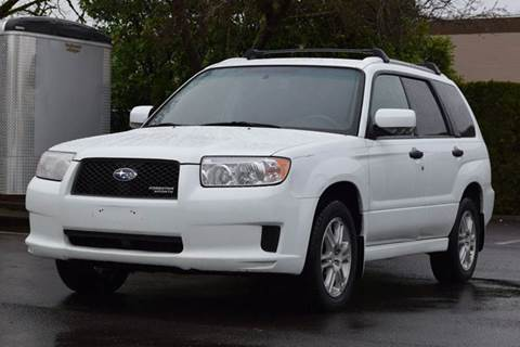 2008 Subaru Forester for sale in Aloha, OR