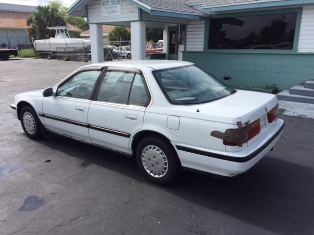 1991 Honda Accord LX 4dr Sedan In Naples FL  CARRIGHT AUTO SALES INC