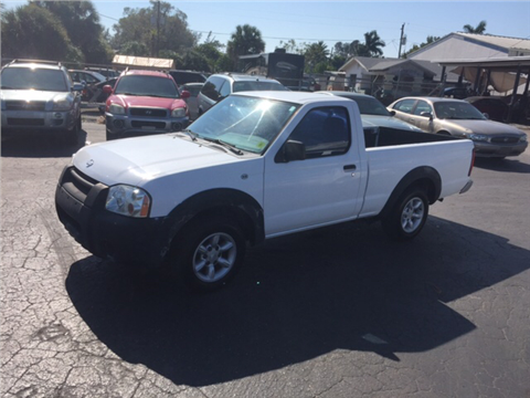 2001 Nissan Frontier for sale in Naples, FL