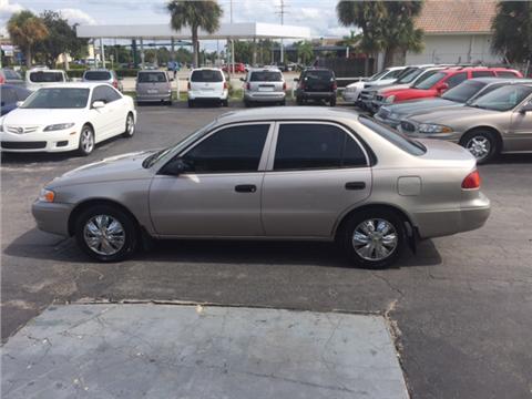 Toyota Corolla For Sale Naples Fl Carsforsale Com