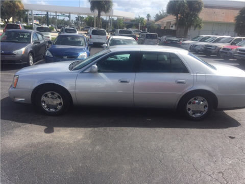 2002 Cadillac DeVille for sale in Naples, FL