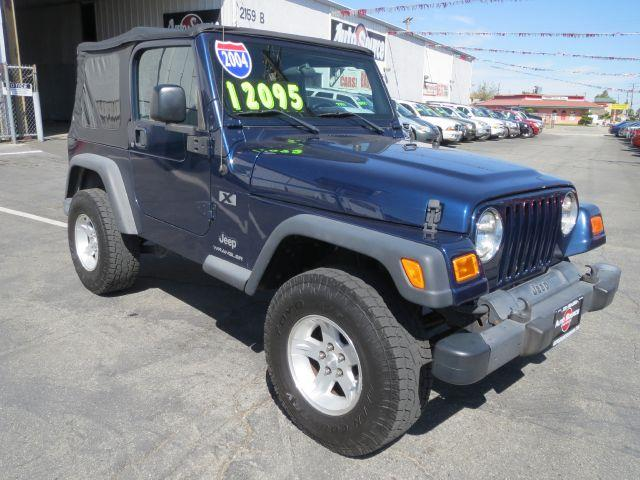 2004 Jeep Wrangler for sale in Banning CA