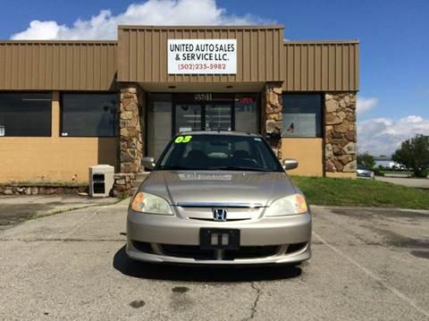 Honda civic for sale louisville ky for Car city motors louisville ky