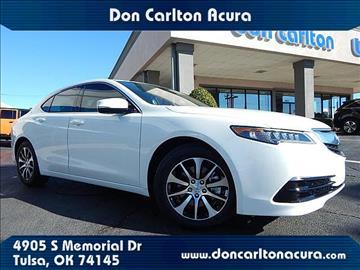 2017 Acura TLX for sale in Tulsa, OK