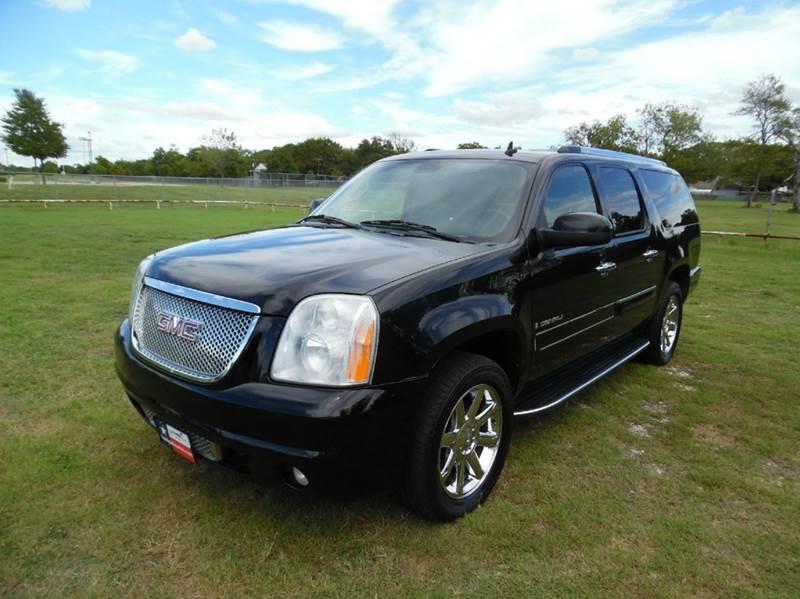 2008 gmc yukon xl awd denali 4dr suv in dallas tx la pulga jdj auto sales. Black Bedroom Furniture Sets. Home Design Ideas