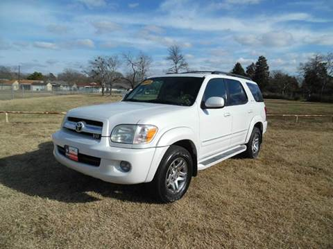 2005 Toyota Sequoia for sale in Dallas, TX