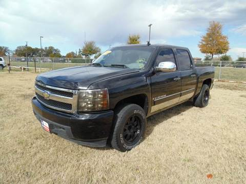 2007 chevrolet silverado 1500 for sale in dallas tx. Black Bedroom Furniture Sets. Home Design Ideas
